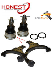 Para HONDA CIVIC 2001-2006 frontal inferior brazos de Suspensión Wishbone par & balljoints
