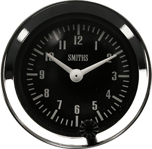 Classic Mini NEW SMITHS TIME CLOCK  52mm DIA Auxiliary Clock