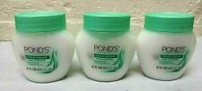 3 Pcs ! Ponds Cold Cream Make-up  Remover Deep Face Cleaner 3.5 Oz New !