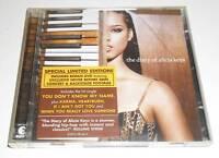 THE DIARY OF ALICIA KEYS - SPECIAL LIMITED EDITION 2003 UK CD + BONUS DVD ALBUM