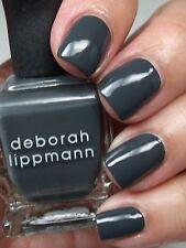 NEW! Deborah Lippmann nail polish lacquer in STORMY WEATHER ~ MINI SIZE