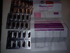 20 Tabletten Mama plus, Nahrungsergänzung Schwangerschaft, Doppelherz