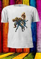 Fantastic Four Thing Human Torch Susan Storm Mr Men Women Unisex T-shirt 2866