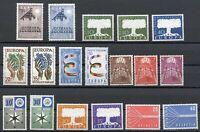 Cept Jahrgang 1957 postfrisch MNH komplett incl. Luxemburg (CE6001