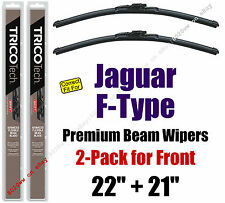 Wipers 2-Pack Premium Wiper Beam Blades - fit 2014+ Jaguar F-Type 19220/210