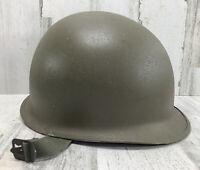 Original M1 Vietnam War Helmet (602) With DLA100-86-C-4397 Headband Liner