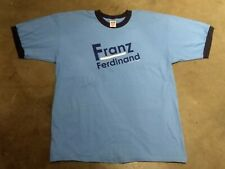 New listing 2005 Deadstock! Vintage Franz Ferdinand concert shirt! The Strokes Interpol
