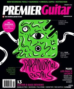 Premier Guitar Magazine January 2016 FREE SHIPPING