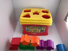 Fisher Price Shape Sorter Mattel 2006 Baby's First Blocks Learning Toy