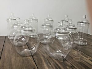 10 Sweet Jars kids Party Baby Shower Weddings Candy Buffet-Christening