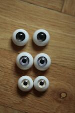 set of 3 pairs of silicone Souldoll eyes for bjd doll 16 & 18 mm size