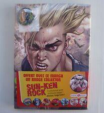 BD livre manga Sun Ken Rock Volume 7 avec badge Boichi Bamboo Doki Doki NEUF