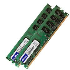 4GB KIT 2 x 2GB HP Compaq Pavilion m8400f m8407c m8417c m8425f Ram Memory
