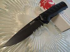 """CRKT Ruger Crack-Shot Assisted Steigerwalt Pocket Knife R1202K 8Cr13MoV 7 1/4"""" O"""