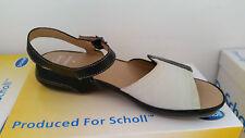 Scholl pasión Sandalias Negro Talla 39 (RRP £ 40)