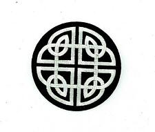 Patch patches embroidered biker motorcycle celtic cross irish celtic knots