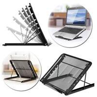 NEW Adjustable Folding Holder Ventilated Laptop Stand Portable Cooling Rack US