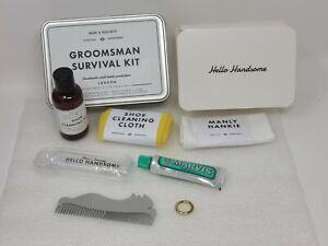 Men's Society Survival Department Groomsman Survival Kit Made In London