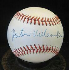 Hector Villanueva Signed ONL Baseball COA JSA Authentic, Chicago Cubs
