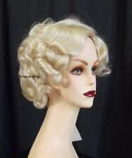 COLOR CHOICE ..Full Fluff Cathy Wig  Perfect for Theatre or every day. 1930s ***