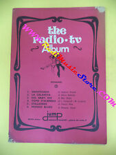 spartito THE RADIO TV ALBUM 1970 JUMP sofisticado La calamita no cd lp mc dvd