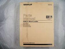 CAT Caterpillar 938G II WHEEL LOADER PARTS  MANUAL CRD  SEBP3498-01