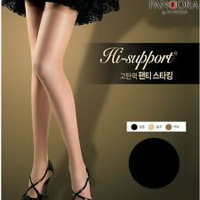 Black 5pes VIVIEN Womens Pantyhose 20 Denier High Elasticity Panty Hose Korean