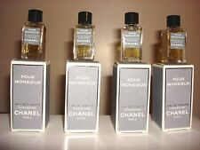 POUR MONSIEUR CHANEL  EDT 4 ML.BOXED MINI, BLOW OUT SALE PRICE FOR PACK OF 4 PCS