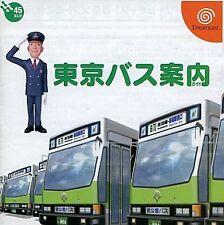 TOKYO BUS Guide Sega Dreamcast DC Import Japan