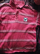 LOVELY MARKS & SPENCER STRIPEY POLO  T-SHIRT age 7-8 Years, 127cm