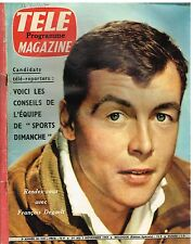 B7- Télé Magazine N°210 Francois Deguelt,Alfred Hitchcock,Joop Simons