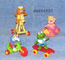 1987 McDonalds Muppet Babies Complete Set & 2 U3's, Boys & Girls, 3+