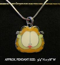 Cat Garfield Necklace Kitty Kitten