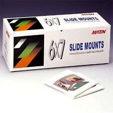 50 Qty Brand New Slide Mounts Scrapbooks Film Abs 6x7 Mount Carousels i