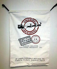 Christmas Express delivery Bag from North Pole, Canvas bag 27x19 I will add name