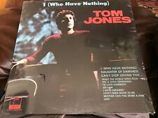 Tom Jones: I (Who Have Nothing) Record Sealed never used