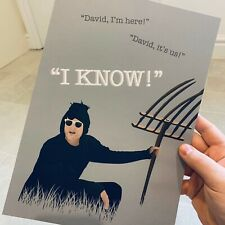 Schitts Creek Amish David TV Show Quotes 8x10 / A3 / A4 Poster Print
