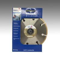 Marcrist HW850 115mm x 22,23mm Holz Plastik Vinyl Laminat Schneider Holz Profi