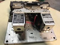 Square D 8736 C08S CO8 8736C08 Starter Contactor 110V Coil NICE READY TO RUN