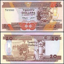 Solomon Islands 20 Dollars, 1986, P-16, UNC