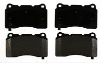 Disc Brake Pad Set-Semi-Metallic Front,Rear ACDelco Advantage 14D1050M