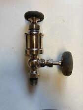 New listing Buckeye Brass Works Lubricator Steam Hit Miss Antique