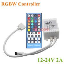 40Key 5pin IR Remote Controller For 3528 5050 RGBW RGBWW LED Strip DC12-24V