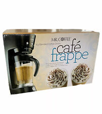 Mr. Coffee Cafe Frappe BVMC-FM1 Automatic Espresso Frappe Maker Open Box New