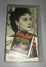 Anna Karenina (VHS Tape) Vivian Leigh 1989