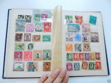 Vintage International Junior 180 Postage Stamp Album Hardcover Book Stamps/Post
