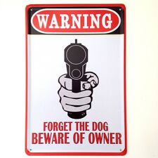 Retro Metal Wall Sign Tin Plaque Vintage Funny Bedroom Garage Shed Keep out
