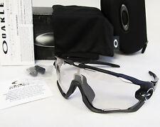 Oakley JAWBREAKER Polish Blk./Clear Blk Irid. Photochromic Sunglasses OO9290-14
