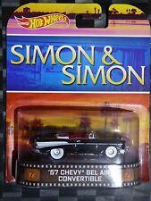 2014 HOTWHEELS - Retro entertainment C - SIMON & SIMON 1957 Chev Bel Air
