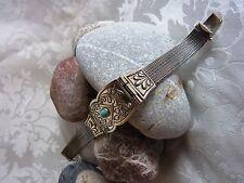 Armband Türkis Stein  925-er Sterlingsilber